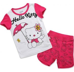 GAP Sleepware 2pc Set - Hello Kitty on Picnic (2Y, 3Y, 5Y)