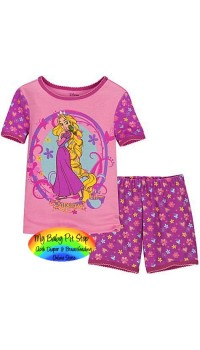 GAP Sleepware 2pc set - Rupunzel (Pink) - (2Y)