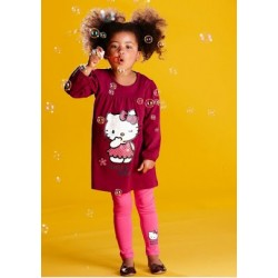 Sleepware 2pc set - Hello Kitty Long Sleeve (3Y)