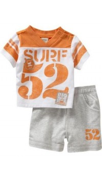 GAP Sleepware Boys 2pc set - Surf (18M)