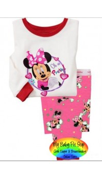 GAP Sleepware 2pc set - Minnie Mouse Cupcakes (2Y)