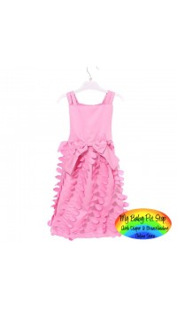 DKNY Girls Opulence Petel Pink Dress (3Y, 4Y, 6Y, 7Y)