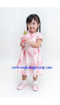 Poly & Friends Floral Princess dress with matching panties (18M, 3Y, 4Y)