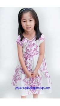 Summer Girls Lavender Dress (5Y, 6Y)