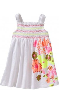 GAP Summer Dress - White (2Y, 4Y)