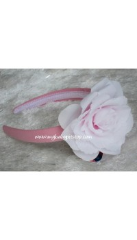 Aliceband - Notti Peppi 2-Tone Pink and White Flower Band