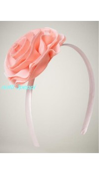 Aliceband - Notti Peppi Peach Aliceband with Flower