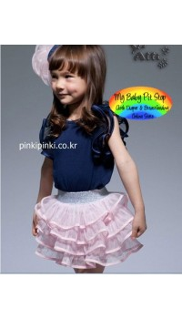 Korean Girl Pink Tutu Skirt (3Y, 4Y, 5Y)