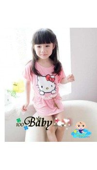 Hello Kitty Oversize Tee - (2Y, 3Y)