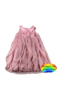 H&M Pink Layer Dress (4Y)