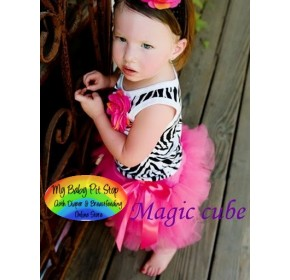Magic Cube 2pc Tutu - Zebra (3Y)