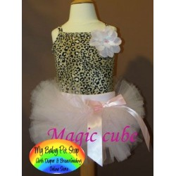 Magic Cube 2pc Tutu - Cheetha (4Y)