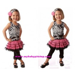 Magic Cube Pink Tutu Set (3Y)