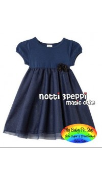 Magic Cube Notti Peppi Summer Dress - Blue (1Y, 2Y, 3Y, 4Y, 5Y, 6Y)