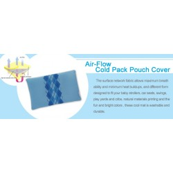Naforye Air-Flow Cold Pack Pouch Cover - Blue