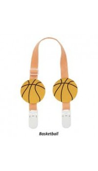 Naforye Bib Clips - Basketball