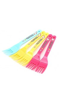 Hello Kitty 5pcs Fork Set (100% authentic)