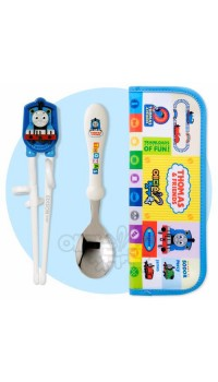 Thomas Engine Chopstick, Spoon & Pouch Set