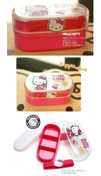 Hello Kitty Multi Deck Lunch Box - Rectangular (100% authentic)