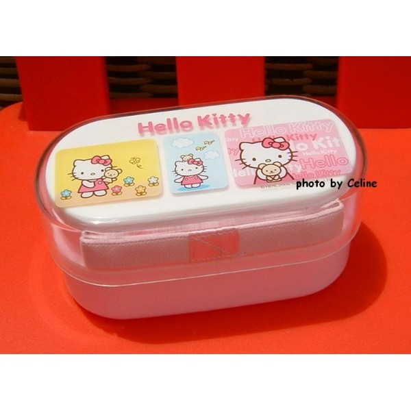 hello kitty multi deck lunch box 100 authentic. Black Bedroom Furniture Sets. Home Design Ideas