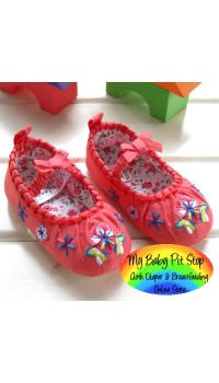 Next Baby Girlz Sock Top Prewalker Shoes