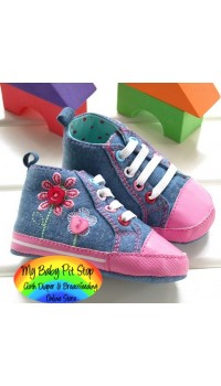 Next Girls Prewalker Shoe - Blue