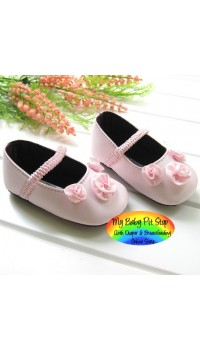Mama & Papa Girls Prewalker Shoe - Pink Rose