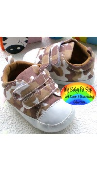 Baby Boyz Prewalker Shoes - Camo (0-3M)