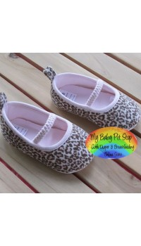 Mothercare Baby Girls shoes (Leapord)