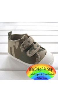 Mothercare Boyz Camo Prewalker shoes (6-12M and 18-24M)