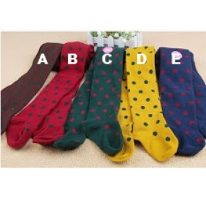 Legging Socks - Korean Girls Fashionable Legging Socks