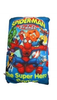 Marvel Story Book Pillow - Spiderman & Friends (Large)