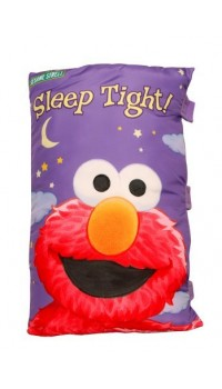 Sesame Street Story Book Pillow - Elmo Sleep Tight (Large)
