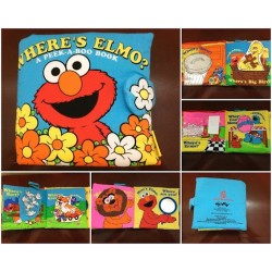 Where's Elmo? A Peek-A-Boo Book
