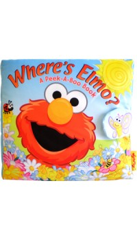 Where's Elmo? Cloth Book