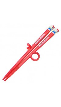 Hello Kitty Junior Red Training Chopstick