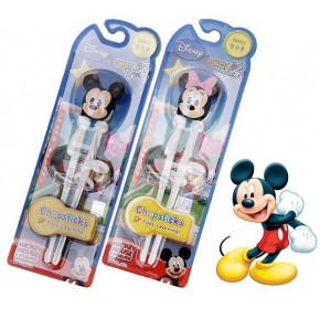 Edison II Chopstick  - Disney Minnie & Mickey (LEFT handed) (100% authentic)