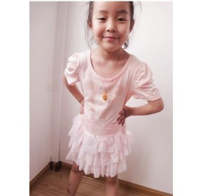Korean Tutu Skirt Set - Pink Ribbon